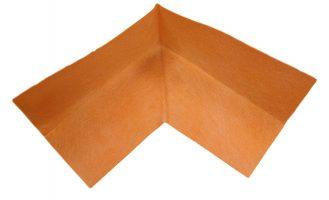 Waterproof membrane external corner